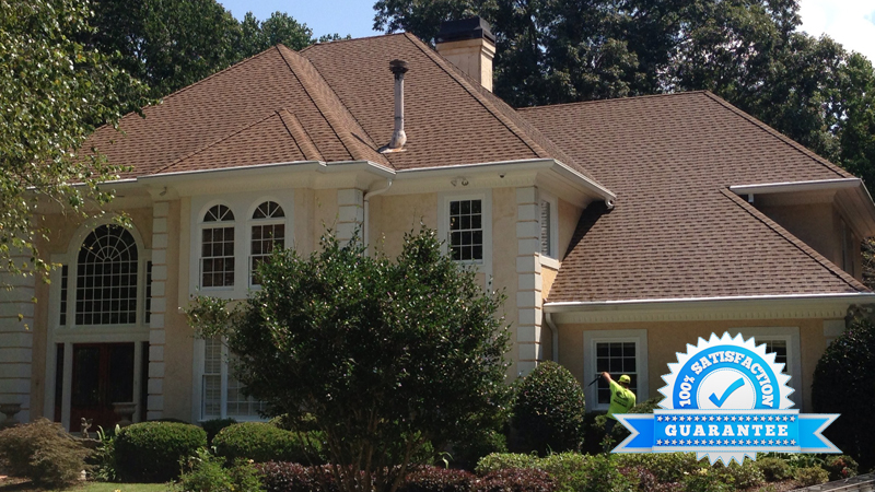 Atlanta, GA Roof Cleaning after